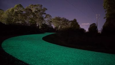 Glowing Road